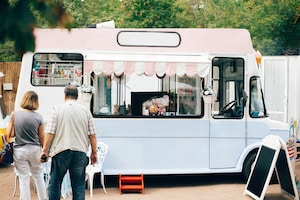 get electricity to your food truck